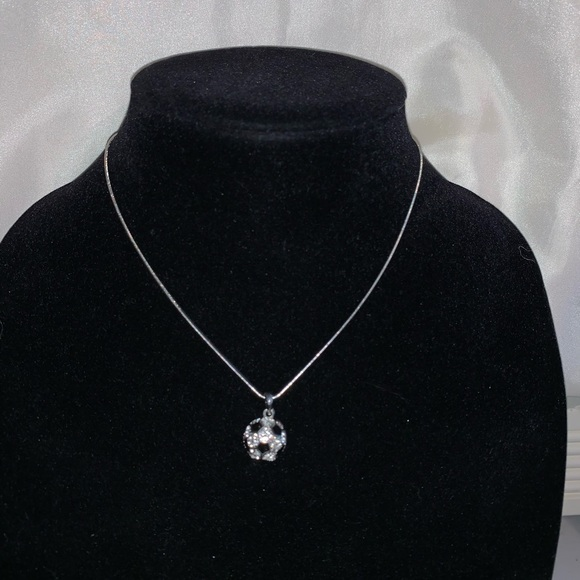 Jewelry - Soccer pendant necklace